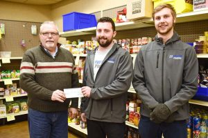 $5000 langley food bank donation